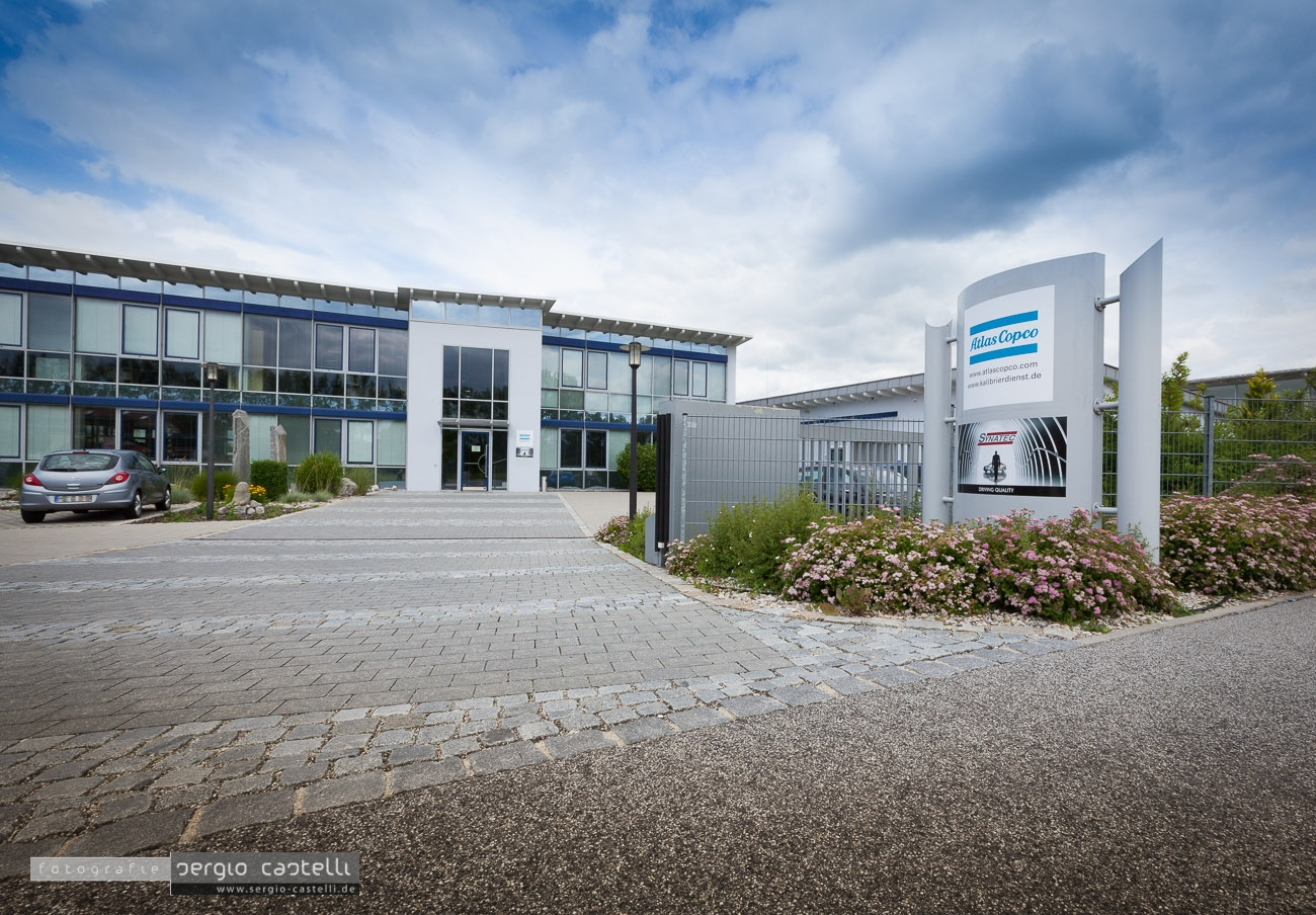 Architekturfotografie – Atlas Copco Dingolfing big